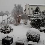 Schnee Anfang März