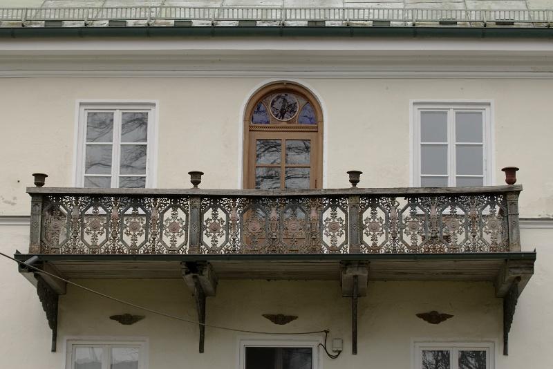 Balkon am Wirtschaftshaus