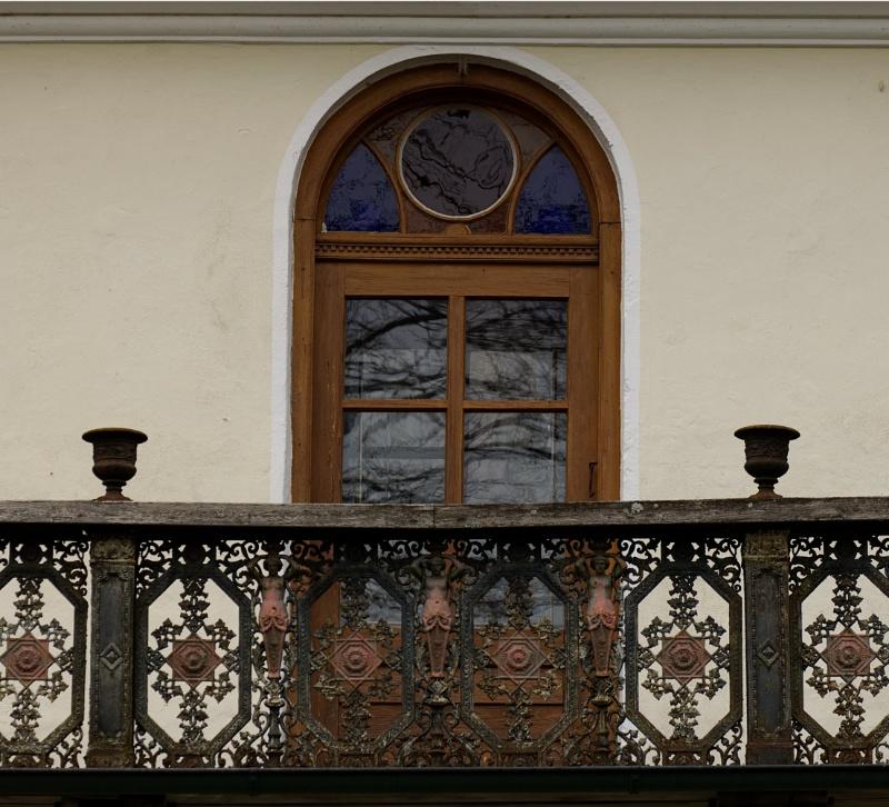 Balkon am Wirtschaftshaus - Detailansicht